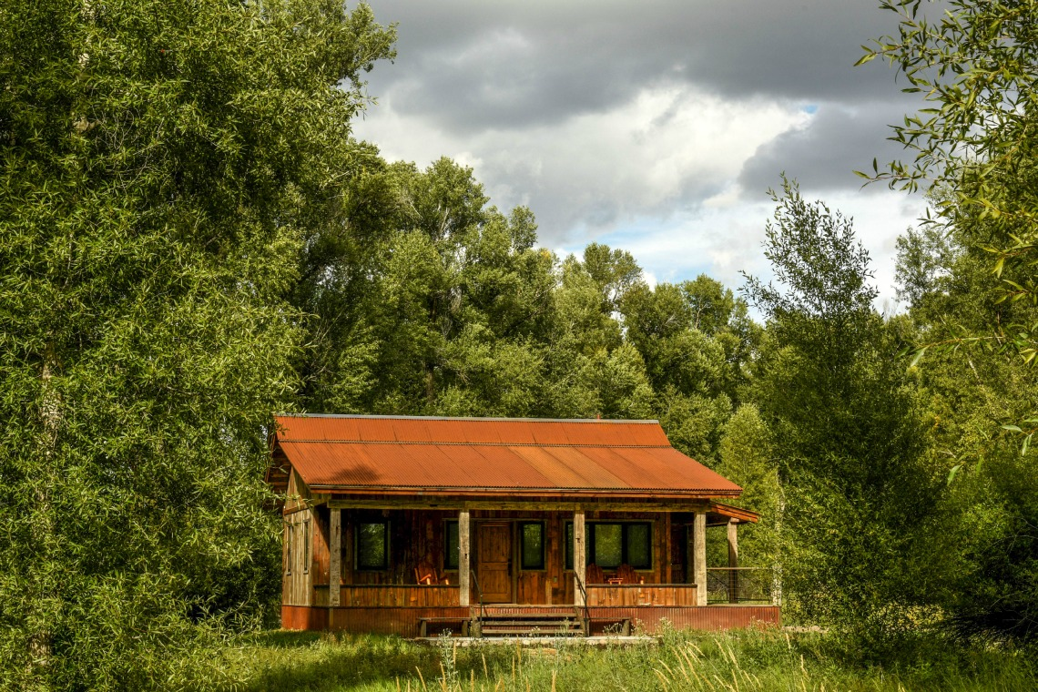 Gunnison River Fishing Cabin